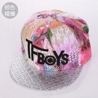 韩版情侣棒球帽嘻哈帽女士帽子 男女士潮流街舞平沿檐帽鸭舌遮阳帽
