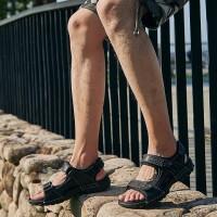夏季流行男鞋镂空露趾凉鞋户外休闲鞋沙滩鞋旅游鞋防滑防水舒适透气
