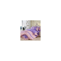 全棉斜纹床单式四件套床上用品纯棉床品套件