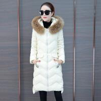 冬季外套女装2018新款棉衣服韩版时尚百搭中长款羽绒棉袄子潮