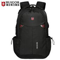 2018新款双肩包男士旅行包女中学生书包商务休闲电脑背包