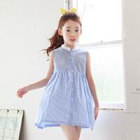 夏装新品童装韩版女童连衣裙中大童童裙