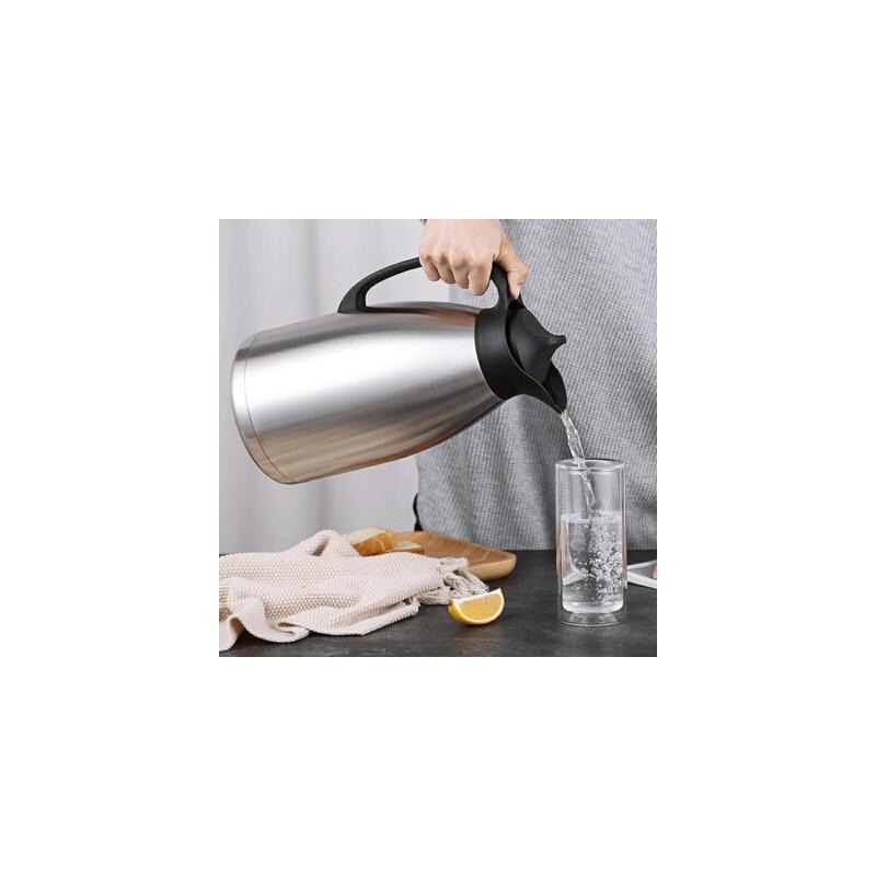 家用装水不锈钢咖啡保温水壶3升大容量户外便携小暖壶热水瓶茶瓶