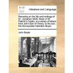 【预订】The Remarks on the Life and Writings of Dr. Jonathan Sw
