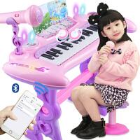 1-3-6岁宝宝礼物初学入门音乐器儿童电子琴带麦克风女孩钢琴玩具