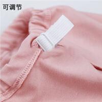 怀孕期产妇通用透气孕妇内衣套装纯棉高腰托腹可调节内裤