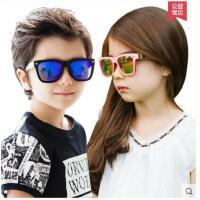 新款儿童眼镜防晒太阳镜时尚男童女童墨镜防紫外线眼镜潮 可礼品卡支付