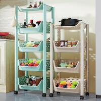 爆款厨房蔬菜置物架 落地多层储物筐用品家用水果菜篮子玩具收纳架子