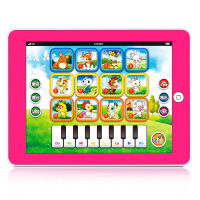 仙邦宝贝互动仿真平板学习机十二生肖儿童点读机早教机益智玩具