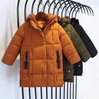 男童棉衣中长款男宝宝3岁儿童小童外套