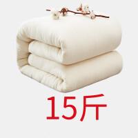 棉花手工棉被冬被加厚保暖棉絮棉胎被子被芯床垫学生宿舍单人 1