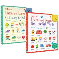 Usborne Listen and Learn可发声书 英语单词卡片幼儿早教启蒙读物 Ready for school