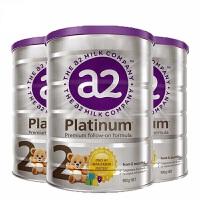 【2段】澳洲直邮/保税区发货 澳洲A2 Platinum艾尔 白金版婴儿牛奶粉 二段(6-12个月) 900g*3罐