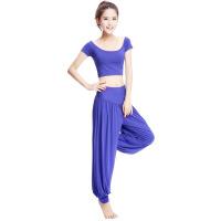 女夏瑜伽服套装瑜伽服瑜珈服健身服舞蹈服瑜伽裤瑜伽服短袖