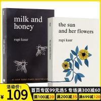 牛奶与蜂蜜 英文原版 Milk and Honey The Sun and Her Flowers 太阳与花儿 太阳和她