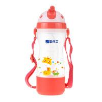 婴侍卫 缤纷儿童背带吸管杯(350毫升)