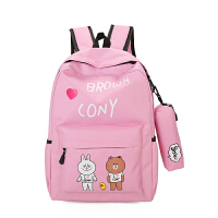 可爱儿童书包女小学生1-2-3-4-5-6年级韩版小清新女孩男孩学生包