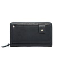 男士手包驾驶证钱包一体男士手拿包 休闲时尚个性手抓包 多卡位复古钱包