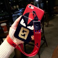 �O果8plus手�C�づ�潮男6sPlus皮套iPhone8�炖K7plus�r尚潮流�X包6��性保�o套7��意