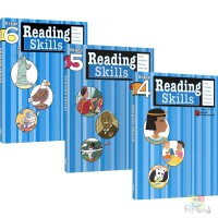 Harcourt Family Learning Reading Skills 哈考特阅读技巧 小学四年级 五年级 六年