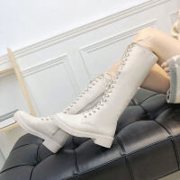 �W美�r尚��Ц咄惭テ降�凸篷R丁靴英���L�L靴�T士�C�米白色女靴