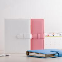 卡杰A5商务活页夹 创意办公文具笔记本 记事本日记薄手帐定制