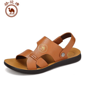 骆驼牌男鞋 凉鞋沙滩鞋子 夏季新品防滑透气露趾休闲款