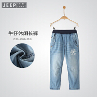 JEEP/吉普童装 男童牛仔裤中大童裤子儿童纯棉休闲长裤春装新款