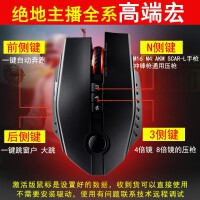 S46 游戏鼠标 (有线机械鼠标电竞 CF逆战绝地求生吃鸡 自动压枪宏无后座)