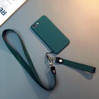 墨�G�色iphone Xs Max手�C�ぬO果7/8plus硅�z防摔�套6sp��sXR 6/6s 4.7寸(墨�G)