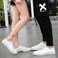 情侣鞋板鞋牛皮鞋运动休闲鞋夏季新款低帮男鞋女鞋韩版时尚百搭