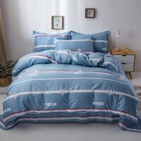 20191106184501251纯棉四件套学生宿舍卡通全棉床单被套三件套床上用品1.0/1.2/1.5/1.8/2.