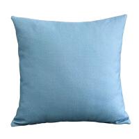 北欧风格麋鹿棉麻现代布艺抱枕靠背垫客厅家用沙发靠枕抱枕套含芯