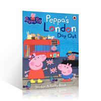 【全店300减100】进口英文原版Peppa Pig粉红猪小妹系列:Peppa's London Day Out 伦敦之