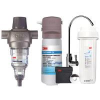 3M净水器 前置过滤器BFS1-100+DWS2066M-CN 家用直饮净水机
