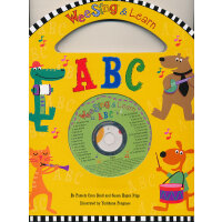 Wee Sing & Learn ABC (Book+CD) 欧美经典儿歌:认识字母 ISBN9780843116618