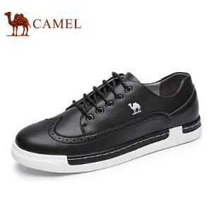 camel骆驼男鞋  夏季新品 时尚休闲滑板鞋低帮潮流休闲男鞋