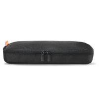 笔记本电脑电源线适配器收纳包商务出差数据线充电器收纳袋包 大尼龙黑色 收藏店铺送鼠标套