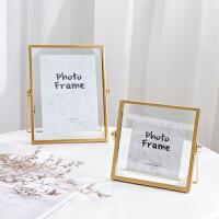 欧式风简约个性带画芯相框摆台装饰品摆件创意家居立体照片架