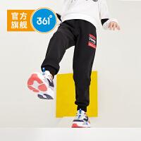 【新春到手价:99.5】361度男童针织长裤2020春季新品休闲运动裤中大童长裤 N52013502