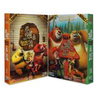 正版原装 dvd熊出没动画片 全集 熊大熊二光头强 14DVD 高清版动画碟