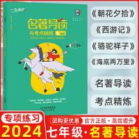2021版 天津专版 一飞冲天名著导读与考点精练 七年级 夯实基础 《朝花夕拾》《西游记》《骆驼祥子》《海底两万里》