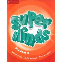 英音版剑桥小学英语教材 Super Minds Level 4 Workbook 第四级别 练习册