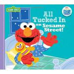 英文原版 芝麻街 大声朗读故事书 All Tucked in on Sesame Street!