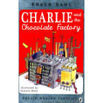 Charlie and the Chocolate Factory by Roald Dahl 《查理和巧克力工厂》特别纪念版 ISBN9780141329857
