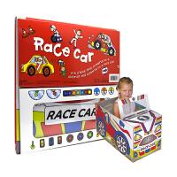 Convertible Race Car 变形大冒险车书 赛车 可组装立体变形折叠玩具书 大开本地板书 儿童英语启蒙绘
