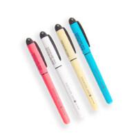 韩国慕娜美中性笔 创意水性笔0.5mm黑色签字笔学生用品文具学生用