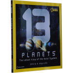 13 Planets: The Latest View of the Solar System 英文原版 美国国家地理