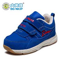 大黄蜂宝宝鞋秋冬男童机能鞋宝宝鞋子学步鞋1-3岁婴童运动鞋软底
