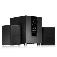 Y1 电脑多媒体音响(台式笔记本电脑低音炮 家用台式无线蓝牙音箱 大功率小钢炮) 黑色 蓝牙版